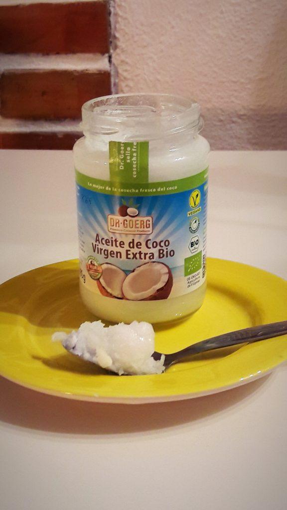 enjuague bucal con aceite de coco