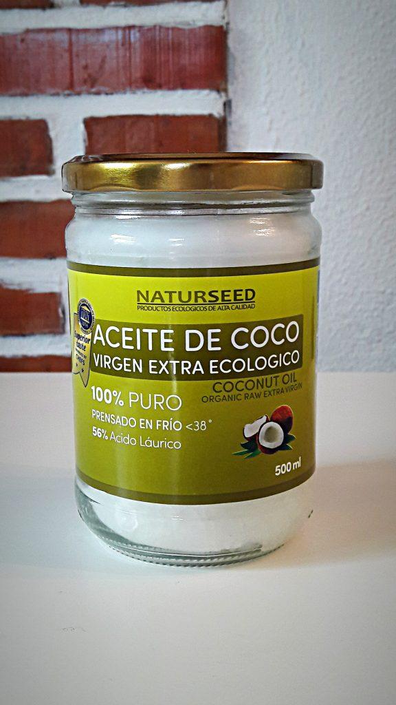 enjuague bucal con aceite de coco ecológico
