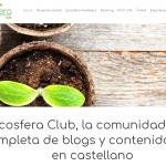 Entrevista a Arantxa y Ainhoa, fundadoras de Ecosfera Club